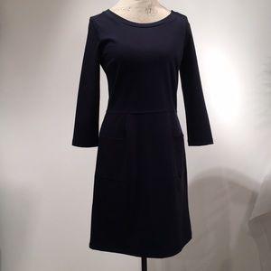 GAP dark navy mid length dress